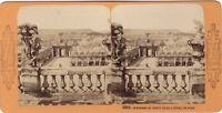 Francia Nancy Panorama Da L Hotel De Ville Foto Stereo Vintage Albumina c1870