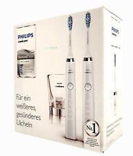 Philips Schallzahnbürste HX9327/87 Diamond Clean New Generation Doppelpack weiß