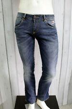 ROY ROGERS Jeans Uomo Taglia 30 / 44 Pantalone Regular Cotone Pants Men Man