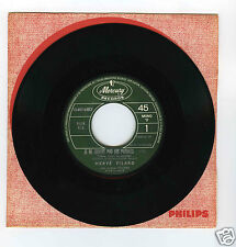 45 RPM SP JUKE BOX HERVE VILARD JE NE TROUVE PAS LES PAROLES