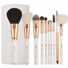 Prime 10 Pcs Professional Makeup Cosmetics Brush Set Kits with leather case