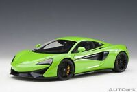 76042McLaren 570S (mantis green/black wheels) 2016 (composite   , 1:18 Autoart