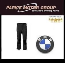 GENUINE NEW BMW MOTORBIKE TROUSERS STREETGUARD BLACK MEN'S SIZE 48 76118546991