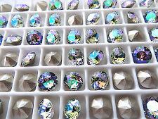 12 Paradise Shine Foiled Swarovski Crystal Chaton Stone 1088 29ss 6mm