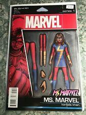 Ms. Marvel 001 - Series 1 - Variant Edition High Grade B7-123