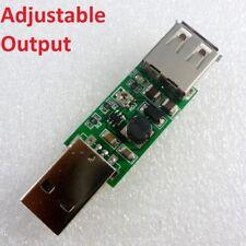 DC-DC USB 5V to 6V 9V 12V 15V Adjustable Step-Up Boost Converter Voltage Module