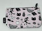 Ipsy small zippered bag halloween theme super cute pouch change bag makeup bag