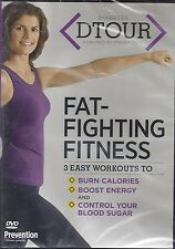 Diabetes DTOUR Fat-Fighting Fitness on DVD 3 Easy Workouts
