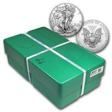 2017 1 oz Silver American Eagle BU (Monster Box of 500oz) - SKU #117471