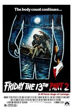 Friday The 13th Part 2:Movie Poster#2:Laminated:A4:!!!!Buy 2 Get 3 FREE!!!!!!!!