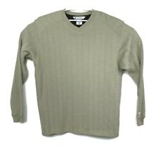 Columbia Mens Beige Long Sleeve Pullover Sweater Sweatshirt Size Large