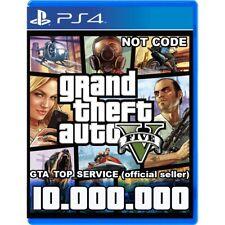 GTA 5 SHARK CARD PS4 Grand Theft Auto V Online  $10.000.000 (Read Description)