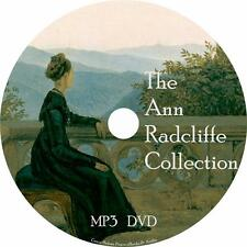 Ann Radcliffe Audiobook Collection in English Unabridged on 1 MP3 DVD Free Ship