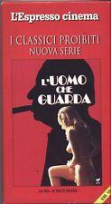 L'uomo che guarda - TINTO BRASS VHS EDITORIALE L'ESPRESSO USATA BUONE CONDIZIONI