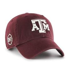 pick up c8633 47262 Size  One Size. Texas A M Aggies Operation Hat Trick  47 Brand Maroon Clean  Up Adjustable Hat