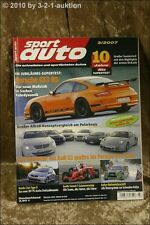 Sport Auto 3/07 Porsche GT3 RS SLR 722 Edition Audi S3