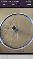 Redline Redline Race Blue bicycle rims - Front and Rear 32 Spokes