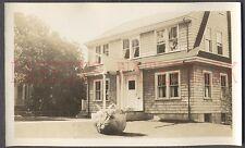 Vintage Photo Unusual Ship & Anchor Front Door 664861