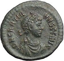 Gratian 378AD Authentic Ancient Roman Coin Wreath  i54870
