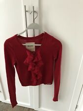 Hollister Kids Red Cardigan- Excellent Condition- Size XS