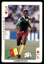 Dandy Gum Italia 90 - Three of Hearts C. Makanaky (Cameroon)