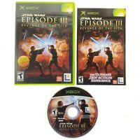 Star Wars: Episode III: Revenge of the Sith (Original Microsoft Xbox, 2005) CIB