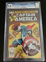 Captain America #275 CGC 9.8 1st Baron Zemo II Disney + Falcon & Winter Soldier