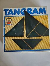 Vintage Discovery Toys Tangram in original box and complete
