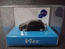TOYOTA Vitz  Yaris LED Light Keychain Black ② Pull Back Mini Car