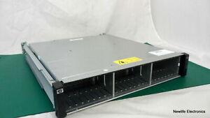 "HP AJ949A StorageWorks MSA2024 24-Bay 2.5"" HDD Array w/Rails 490095-001 Chassis"