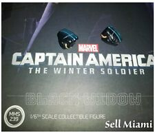 1/6 Hot Toys Captain America Black Widow Pair Of Fists With Shock Effect MMS239