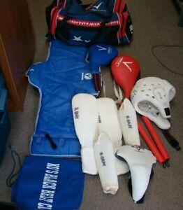 VISION Black Belt Academy Taekwondo  Gear Equipment Bag w Gear