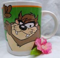 Tasmanian Devil Mug Looney Tunes Cup Taz 1998 Warner Brothers