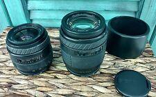 2 Sigma UC Zoom 28-70mm, 1:3.5-4.5 Multi Coated Lens ø52 & 70-210mm 1:4-56