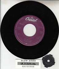 "BEATLES  Slow Down & Matchbox  RARE! 45 rpm 7"" RECORD BRAND NEW + juke box strip"