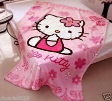 New Hello Kitty Coral Fleece Velvet Blanket Quilt Sheet (140 x 100CM) HC01