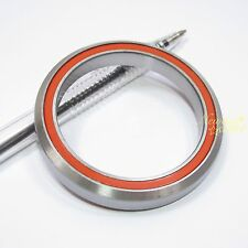 """40x52x8mm 45°x45° 2RS ACB Angular Contact Bearing For 1-1/2"""" Headset"""