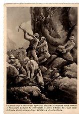 WW2 CARTOLINA AOI GLI AVVENIMENTI ILLUSTRATI badoglio colonie eritrea