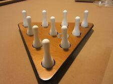 Sun-Glo Shuffleboard Bowling Pins & Pinsetter Set w/ FREE Shipping