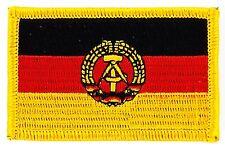 Toppe Toppa PATCH GERMANIA REPUBBLICA DEMOCRATICA TEDESCA RDT RDA DDR Bandiera