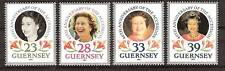 Guernsey # 471-4 Mnh 40th Accession To Royal Throne