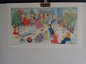 """Operation Santa Claus""   Art Print by Barbara Lavallee"