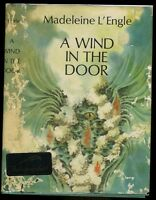 L'Engle, Madeleine: A Wind in the Door **Newbery Author**Signed**HB/DJ 1st/later