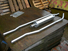VANDEN PLAS PRINCESS 11/1300 Stainless Steel Exhaust