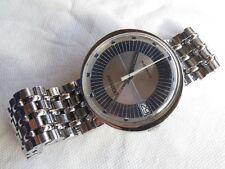 Movado President automatic dare mens wristwatch steel case & bracelet