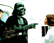 Dave PROWSE SIGNED Autograph Darth VADER Star Wars 10x8 Photo F AFTAL COA