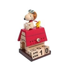 Snoopy & Woodstock Flying Ace Perpetual Calendar - Peanuts gifts toys collection