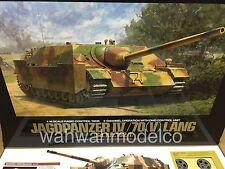 RC Jagdpanzer IV/70(V) Lang - Full Option Kit  [TAMIYA 1/16 R/C TANK KIT]