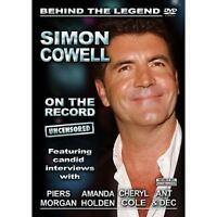 SIMON COWELL ON THE RECORD DVD StandUp Comedy Documentary UK Release New R2