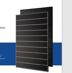 4 KWp mit   10x Solarmodul  Hyundai HiE-S400VG  400 Wp (BFR), 1719 x 1140 mm